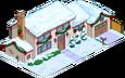 Maison de Sanjay de Noël