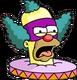 Face de Clown Dégoûté