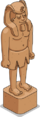 Statue de grès