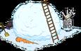 Tas de neige