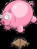 Ballon de cochon géant
