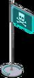 Holo-drapeau Bart