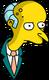 M. Burns Pensif