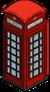 Cabine téléphonique (rouge)