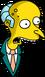 M. Burns Choqué