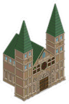 Vieille cathédrale Icon