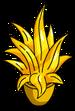 Petite plante en or