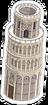Tour penchée Icon