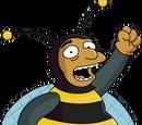 Homme abeille