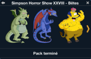 Simpson Horror Show XXVIII - Bêtes