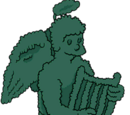 Topiaire en forme d'ange