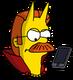 Diable Flanders Téléphone Ennuyé