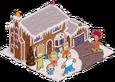Maison en pain d'épices des Simpson