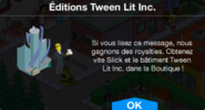 Éditions Tween Lit Inc. Boutique