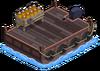 Barge à feux d'artifice