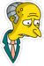 M. Burns Triste Icon