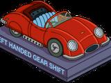 Roadster pour gauchers