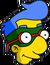 Milhouse costumé Icon