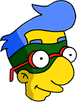 Milhouse costumé Icon
