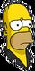 HomerBowling Triste