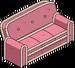 Canapé en pain d'épices des Simpson