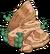 Rocher à cactus