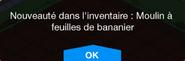 Moulin à feuilles de bananier Inv