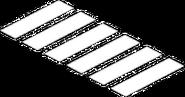 Passage clouté Fierté (blanc)