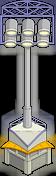 Système d'éclairage du stade Gris
