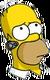 Homer Oreillette Pensif