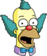 Krusty Face Plaisantant