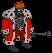 Vieux roi charbon Menu
