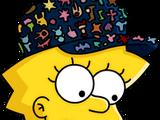 Lisa collectionneuse de pin's