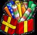 Pack de 25 papiers cadeaux