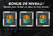 Niveau bonus