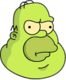 Homer Gélatine Ennuyé