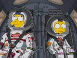 """Promotion de l'épisode """"The Marge-ian Chronicles"""""""