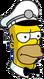 HomerGlacier Ennuyé