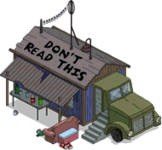 Camion cabane