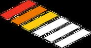Passage clouté Fierté (jaune)