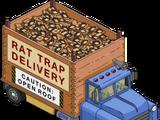 Camion de pièges à rats