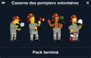 Caserne des pompiers volontaires