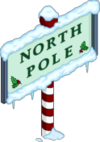 Poteau Pôle Nord