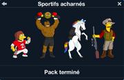 Sportifs acharnés