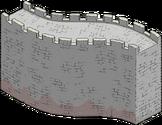Section de la grande muraille