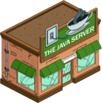 Cybercafé Java Server