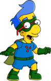 Milhouse costumé