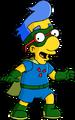 Milhouse costumé