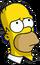 Homer pensif Icon