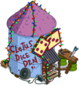 Cabane aux dés de Cletus